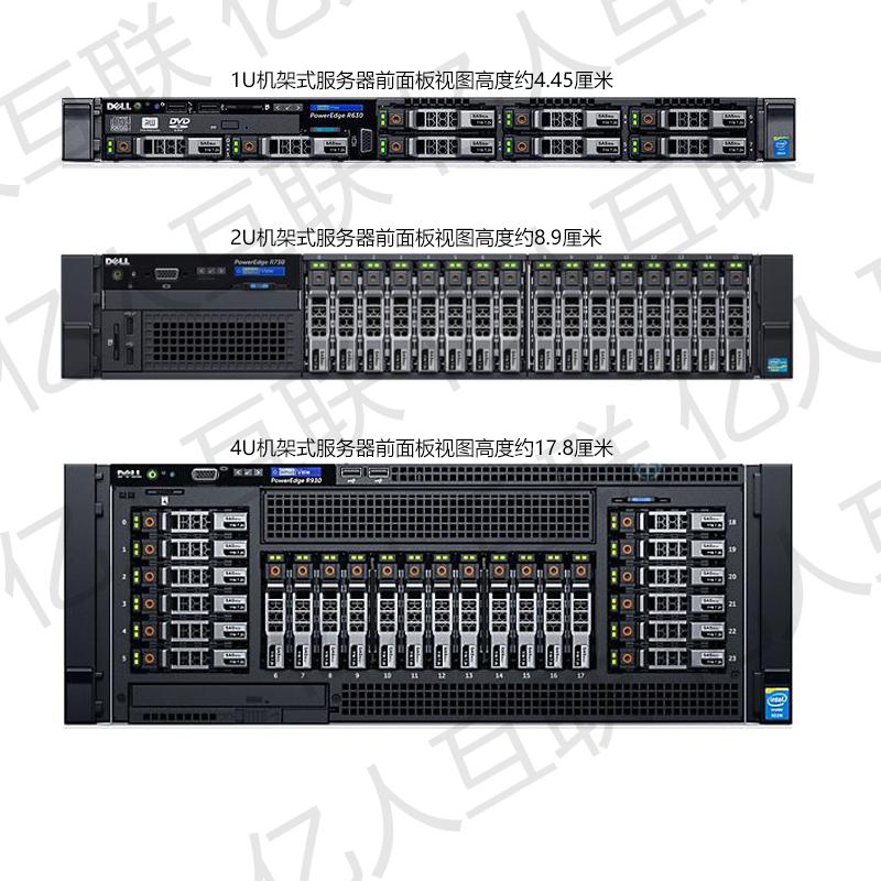 1U、2U、4U服务器如何选择?几U的服务器托管更合适?